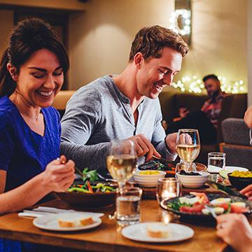 Are there any restaurants near Cambria Hotel Columbus – Polaris?